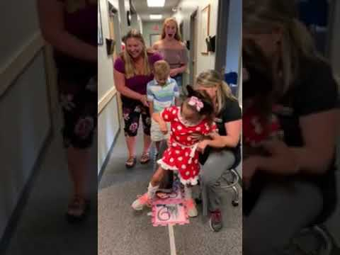 Disney Wish Reveal for Wish Kid with Cerebral Palsy