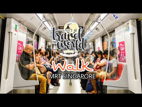 Traveling To Singapore #Part 6 | Orchard MRT To Merlion Park - Part one