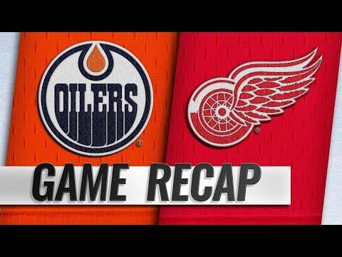 McDavid, Khaira, Brodziak lead Oilers past Red Wings