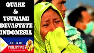 INDONESIA EARTHQUAKE AND TSUNAMI (2018)