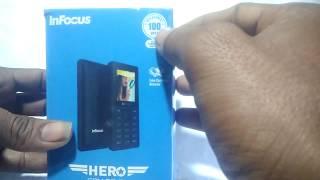 InFocus Hero Smart P4 Phone Unboxing In Hindi ll Fake Currency Detector Phone ₹ 700