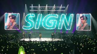 191013 GOT7 (갓세븐) - 1° + Sign [KEEP SPINNING WORLD TOUR] in …