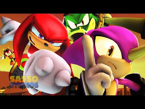 KNUCKLES CHAOTIX STARRING ESPIO! | Sonic Animation SFM 4K