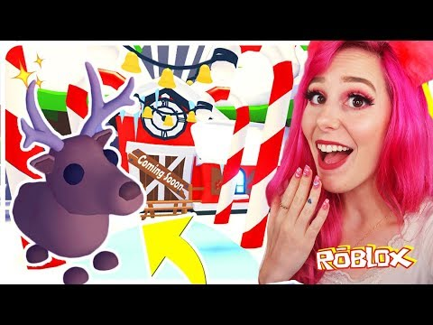 NEW ADOPT ME CHRISTMAS UPDATE! New Reindeer Pets, Prizes and More! (FREE PLUSHIE) Roblox Adopt ...