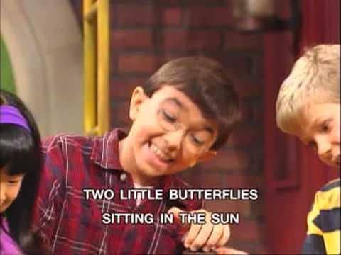 Barney  3 Little Butterflies Song
