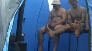 Готовые мобильные бани(На видео: парение в готовой туристической мобильной бане на берегу Черного моря в Анапе. Декабрь. http://banitour.ru/..., 2011-11-06T10:11:28.000Z)