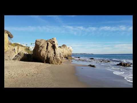 Malibu Beach California 4K