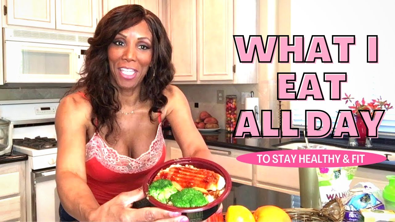 What I Eat all day to stay Healthy & Fit at age 68