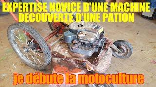 Restauration tondeuse macculloch briggs et stratton M60B51RDEK HW chassis et moteur