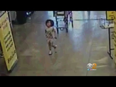 Woman Seen On Camera Abandoning Toddler At Crowded Grocery Store