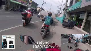 Gambar cover try ko yon setting,,1080/30fps,,,gamit ang GO PRO HERO7 BLACK,,
