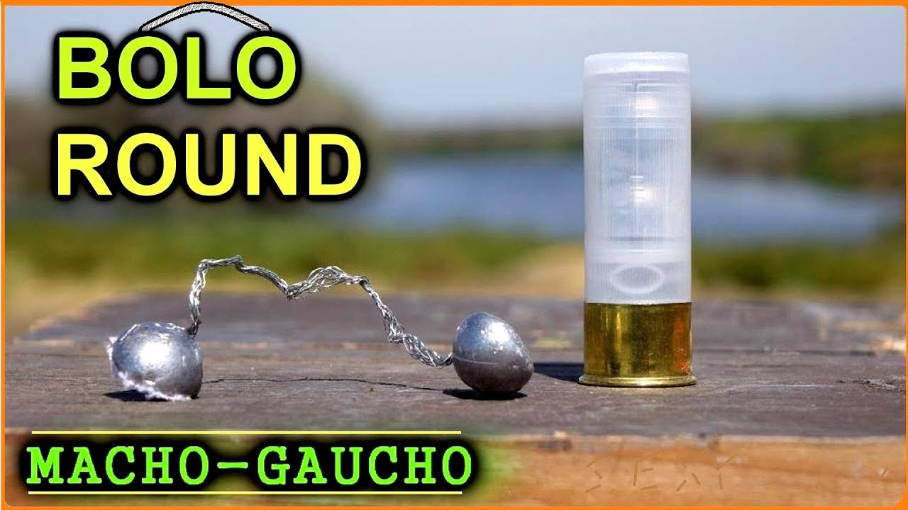 bolo shotgun rounds too evil to be legal youtube