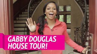 Olympian Gabby Douglas Takes Us Weekly on a Tour of Her Home, Including Her Trophy Case!