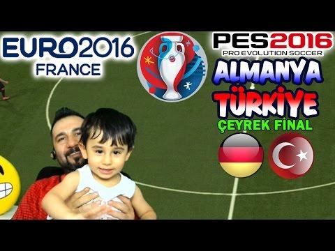 EURO 2016 ÇEYREK FİNAL! | ALMANYA-TÜRKİYE