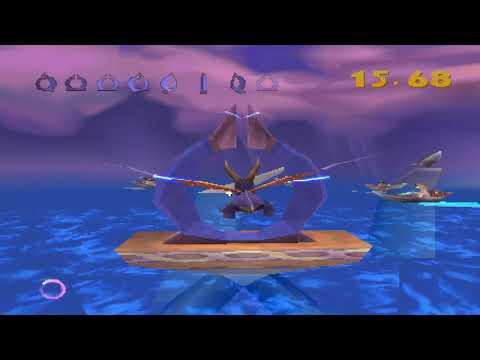 Spyro 2 - Part 4: Ocean Speedway (Walkthrough NO COMMENTARY)