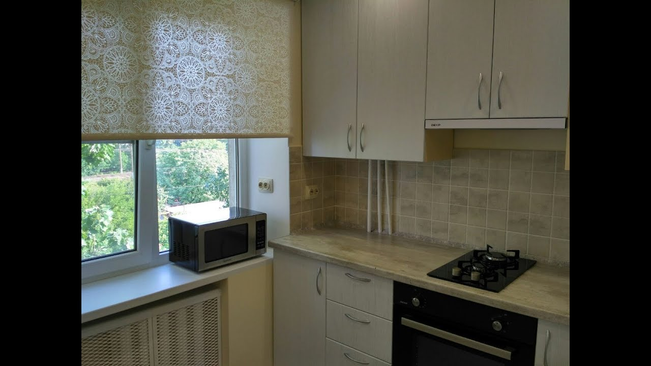 Кухня в хрущевке после ремонта. Дизайн кухни с газовой ...