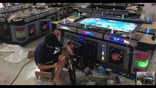 Final testing fish hunter fish  gambling game machine before shipping ocean king 3 monster awaken