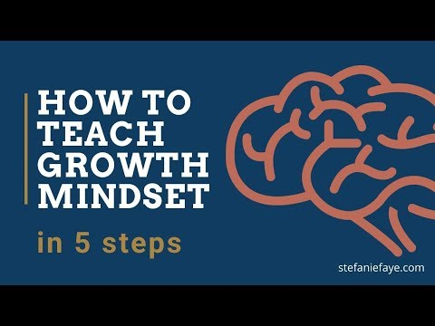 How to teach growth mindset to students in 5 steps