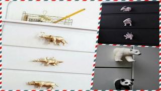 Необычные ручки для мебели своими руками! #самоделки, #своими руками,