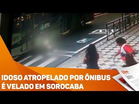 Idoso atropelado por ônibus é velado em Sorocaba - TV SOROCABA/SBT