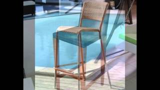 Rattan4ever bar chairs rattan wicker furniture Thailand Bangkok December 2013 หวายเทียม