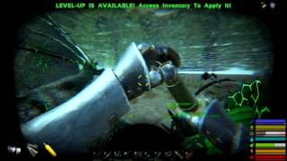 [11] Becoming A Tank + Alpha Sabertooth Taming! (Modded Ark Survival Season 5)