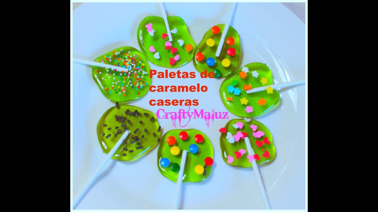 Como hacer paletas de az car caseras receta f cil how to - Como hacer palomitas de caramelo caseras ...