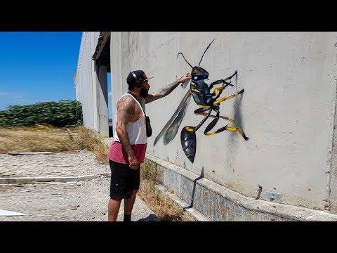Как сделать 3D-рисунок на стене, не имея таланта художника