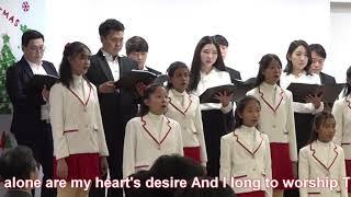 2020 Hosanna Choir sings with Amo Gloria Choir (As the Deer) arr. Johann Kim