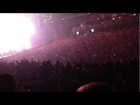Swedish House Mafia in Prague at O2 arena 29.11.2012 - from Tommy Rogers