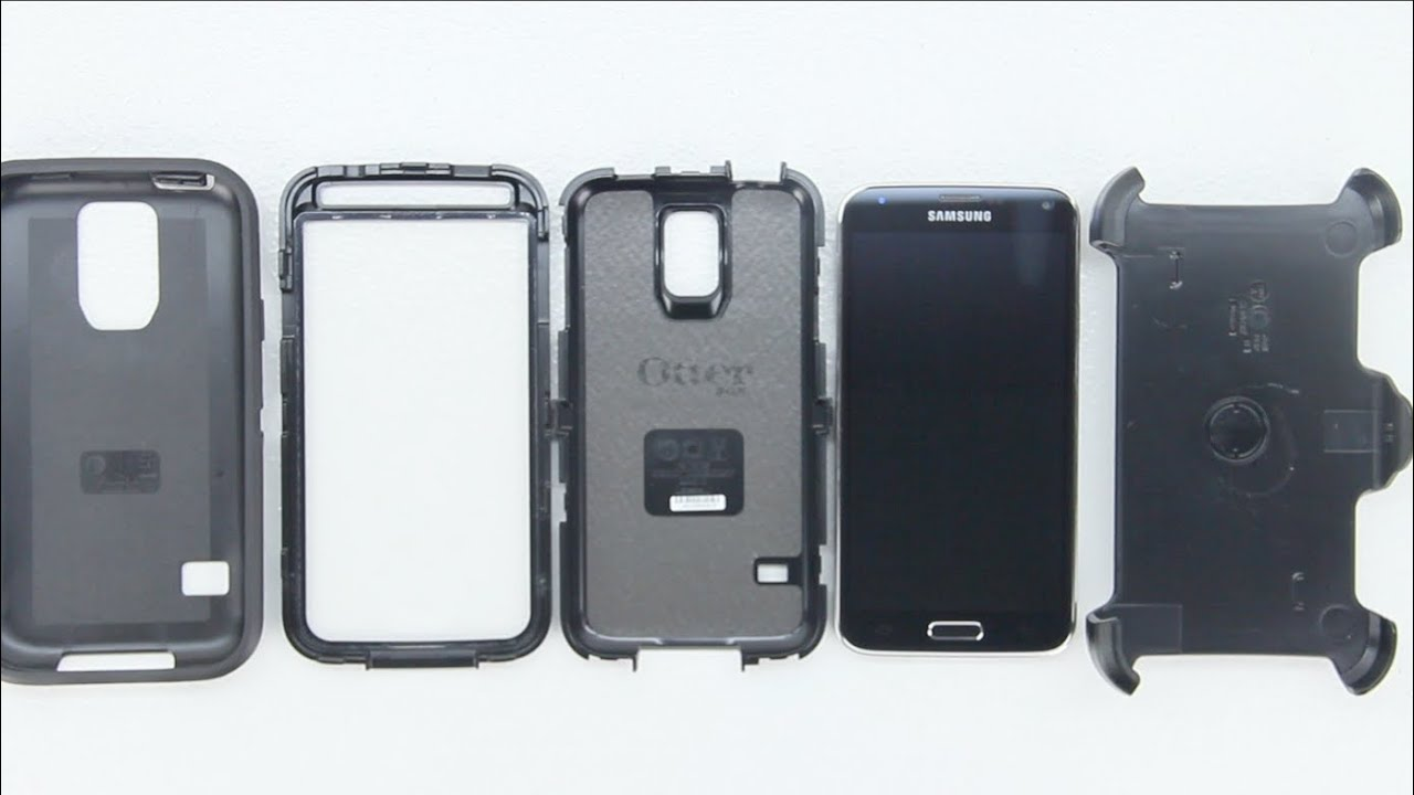 super popular a930d 10f99 How To Install Or Uninstall Otterbox Defender Series Case For Samsung  Galaxy S5