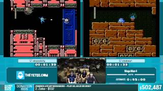 Mega Man 4 by almondcity, Chelney in 38:29 - Summer Games Done Quick 2015 - Part 111