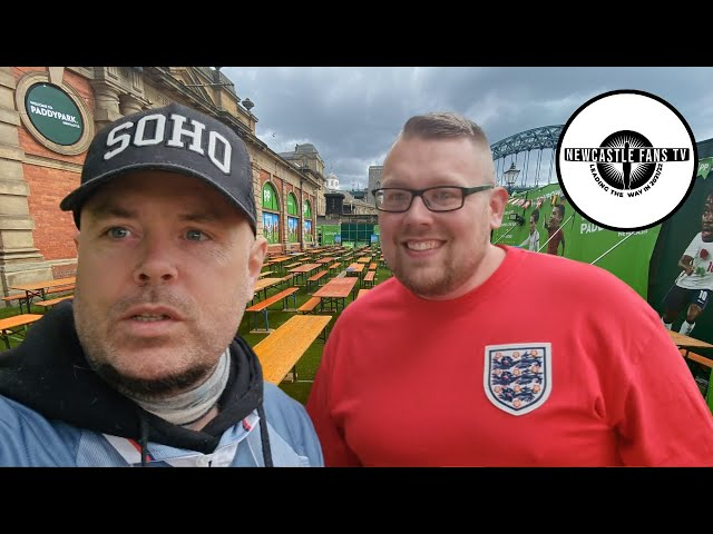 England 0-0 Scotland. Lee & Josh have just came out of the fan zone & they're feeling frustrated.