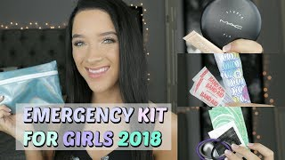 Back To School: Emergency Kit For Girls 2018!