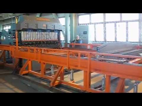 Машина сварки арматурной сетки WF-2000 Тобольск Heavy rebar mesh welding machine
