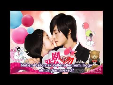 SISTAR's Soyu   Saranghanda Malhalkka Should I Say I Love You) Playfull Kiss ost magyar felirattal