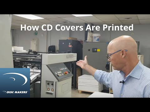 How CD Covers Are Printed – Offset Vs. Digital: Indie Music Minute