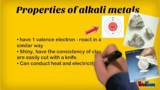 ALKALI METALS and HALOGEN GASES