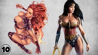 Top 10 Superheroes Who Can Defeat Starfire