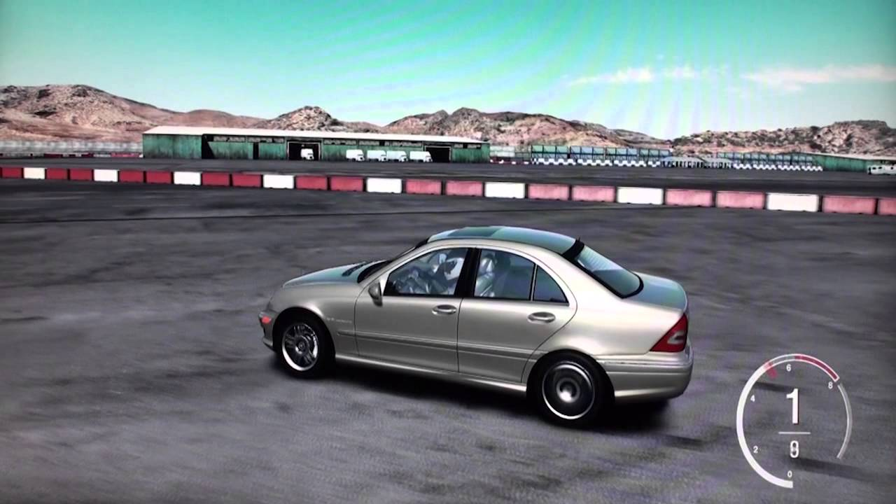 Mercedes benz c32 amg 2004 gameplay forza motorsport 4 xbox360