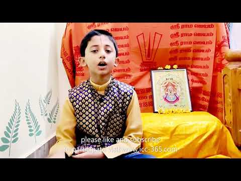 goddess Lakshmi song perfectly sung by little boy