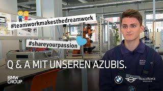 Q & A mit unseren Azubis | BMW Group Careers.
