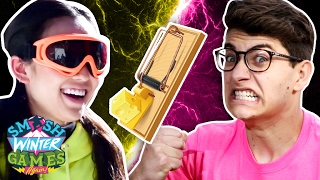 SNOWBOARD MOUSETRAPS & OPENING CEREMONY (Smosh Winter Games)
