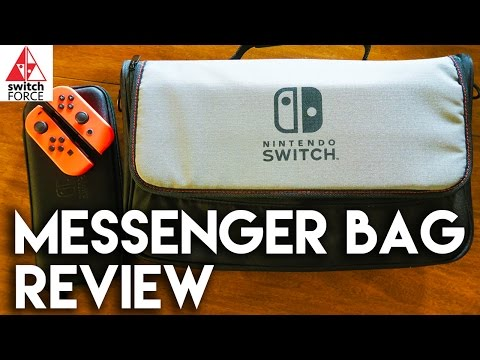 Best Switch Travel Solution? Messenger Bag Review + Unboxing