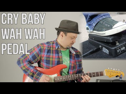 Cry Baby Wah Wah Pedal - Demo by Marty Schwartz - MartyMusic - Thursday Gear Video
