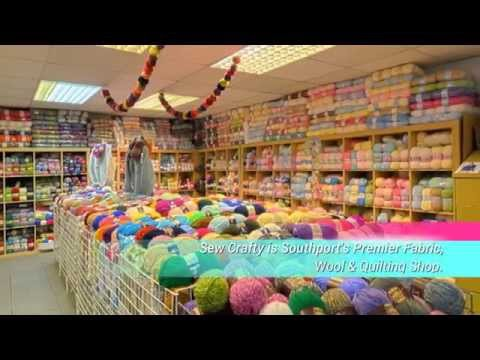 Sew Crafty Fabric Shop In Southport