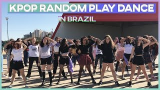 KPOP RANDOM PLAY DANCE IN PUBLIC GOIÂNIA, BRASIL part 1 [AURORA DANCE GROUP]