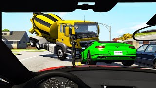 First Person Driving Crashes #3 - Beamng drive