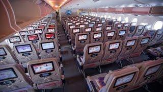 EMIRATES IMPRESSIVE ECONOMY CLASS   DUBAI-ZURICH   AIRBUS A380