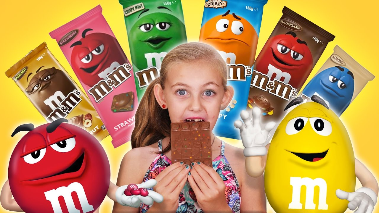 World Exclusive M Ms Chocolate Bars Brand New Youtube